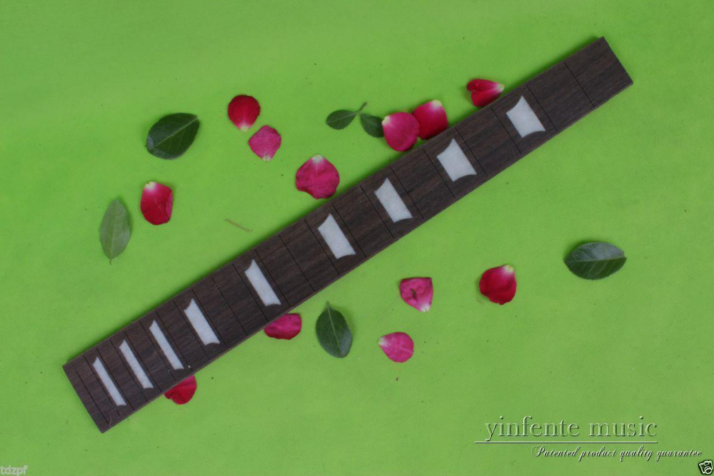New electric Guitar Fretboard Top grade rose wood blank Luthier Made Std #33