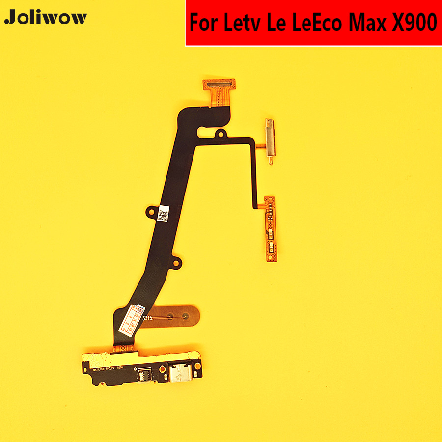 1X Top quality USB Plug Charger sub Board Flex Cable For Letv Le Max X 900
