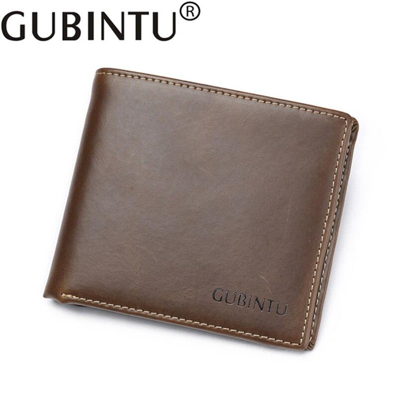 Short Designer Luxury Brand Genuine Leather Men Wallet Male Purse ...