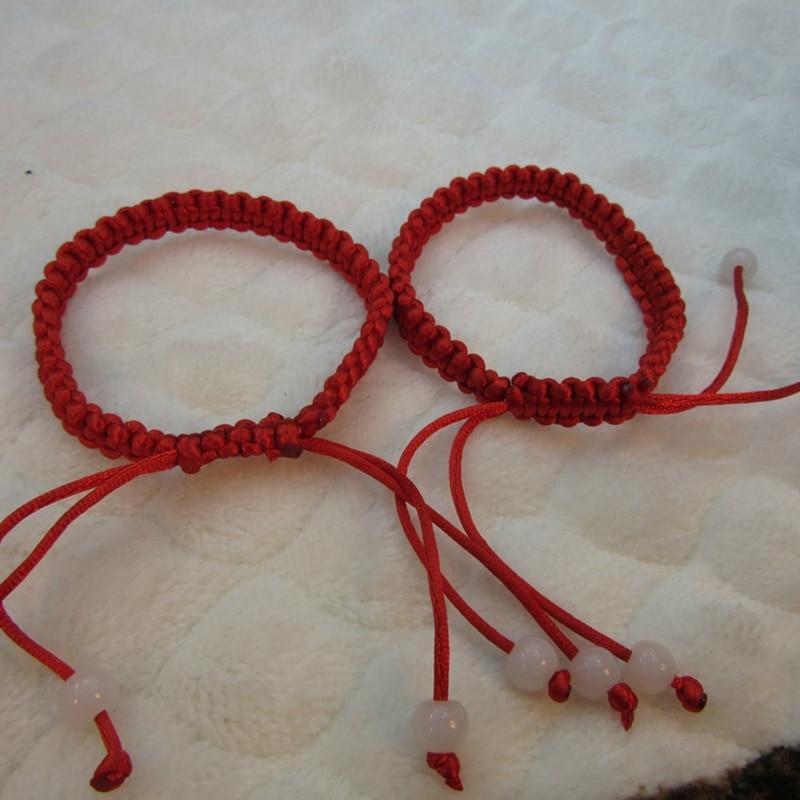 2pcs Classic Braided Good Lucky Bracelet Kabbalah Red String Bracelets Jewelry Friendship Bangles Party Gift Woman Man Trinket