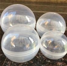 10Pieces Diameter:100mm Empty Plastic Toy Capsule Egg Shell Plastic Ball Vending Machine Round Plastic Capsule