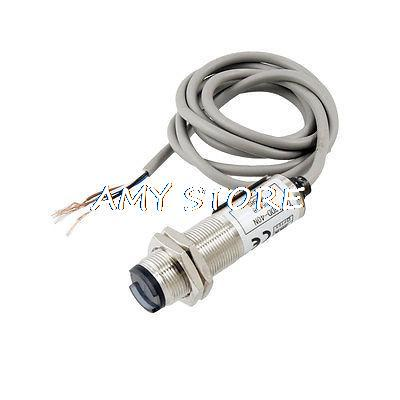 DC12 24V 4 Wired Cylindrical Type Photoelectric Sensor Switch