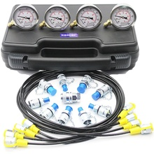 Excavator Hydraulic Pressure Gauge Test Kit, Diagnostic Tool,  2 year warranty