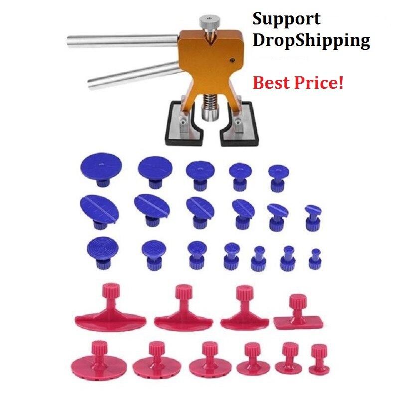 Ferramentas de PDR Paintless Dent Repair Tools Dent Remoção Dent Guias Extrator Dent Levantador Mão Tool Set Kit De Ferramentas Ferramentas Ferramentas Manuais