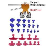 Outils PDR outils de réparation de Dent sans peinture retrait de Dent extracteur de Dent onglets outil à main de levage de Dent ensemble d'outils à main Ferramentas
