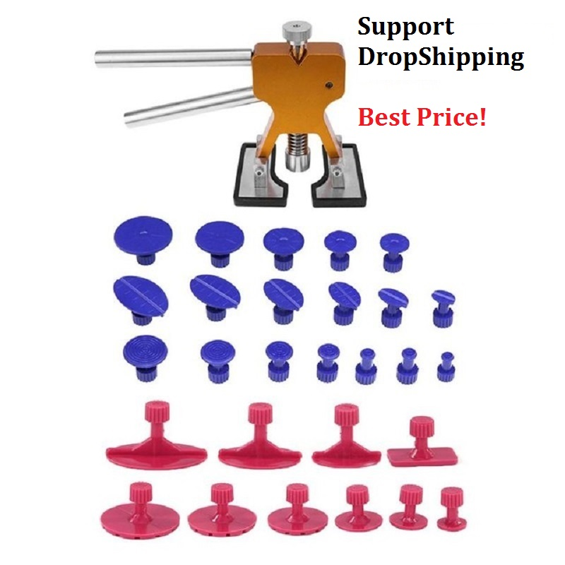 PDR Tools Paintless Dent Repair Tools Dent Removal Kit Dent Puller Tabs Dent Lifter Hand Tool Set Toolkit Ferramentas Hand Tools