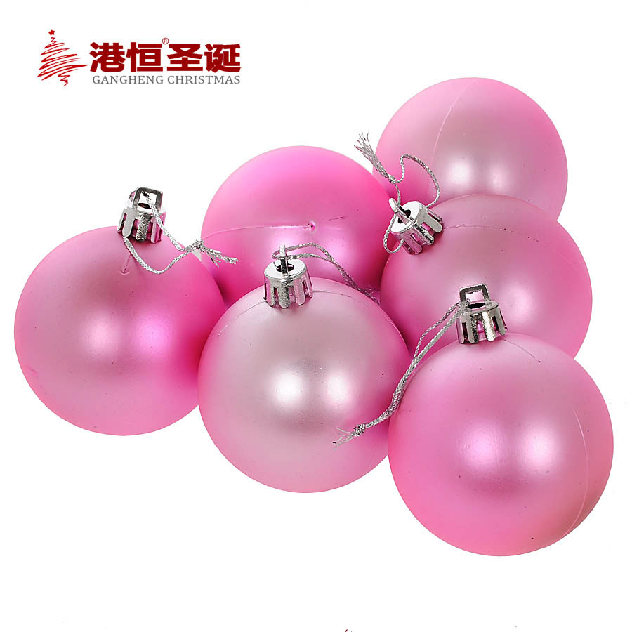 Compare prices on pink christmas ornaments balls online for Pink christmas decorations