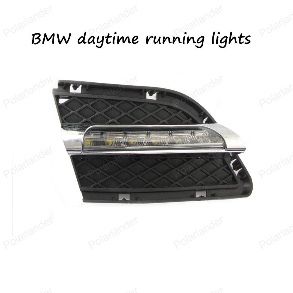 ФОТО Ultra-bright LED Daytime Running Light LED DRL light FOR BMW 3 Series E90 10-12 LED DRL Day Running Lights 12V White Color
