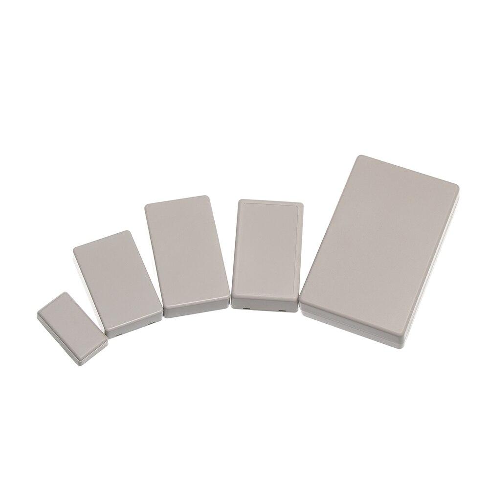 1 шт. Высокое качество Белый ABS пластик водонепроницаемый чехол проект электронный проект коробка инструмент чехол Корпус коробки 8 размеров