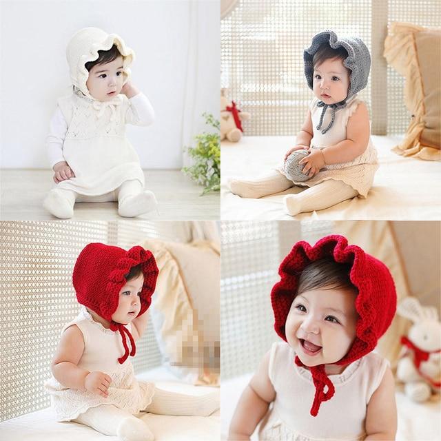 19755 руб 38 скидкавязаные шапки для новорожденных однотонная шапочка принцессы