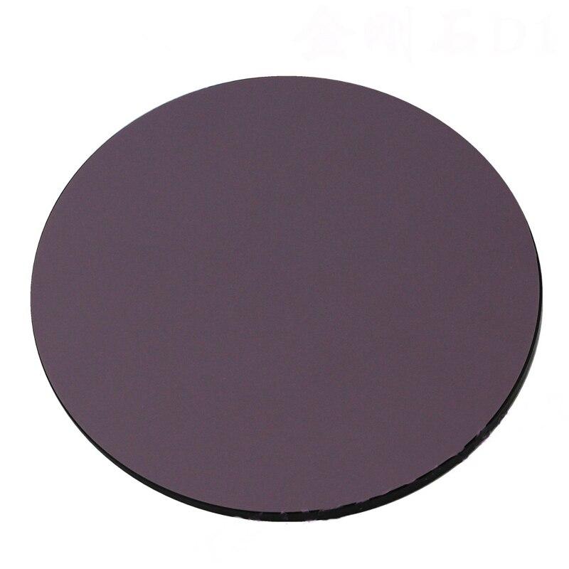 10PCS/bag 1U Fiber Diamond Fiber Polishing Sandpaper/paper 1u Round 127mm Fiber Abrasive Sheet Supplies Free Shipping