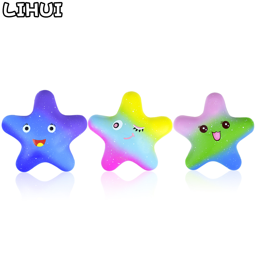 Novelty & Gag Toys Toys & Hobbies Stress Reliever Toys Elastic Pu Squishy Squeeze Healing Toy Simulation Starfish Mochi Mini Slow Rising Kids Animal Doll F1213