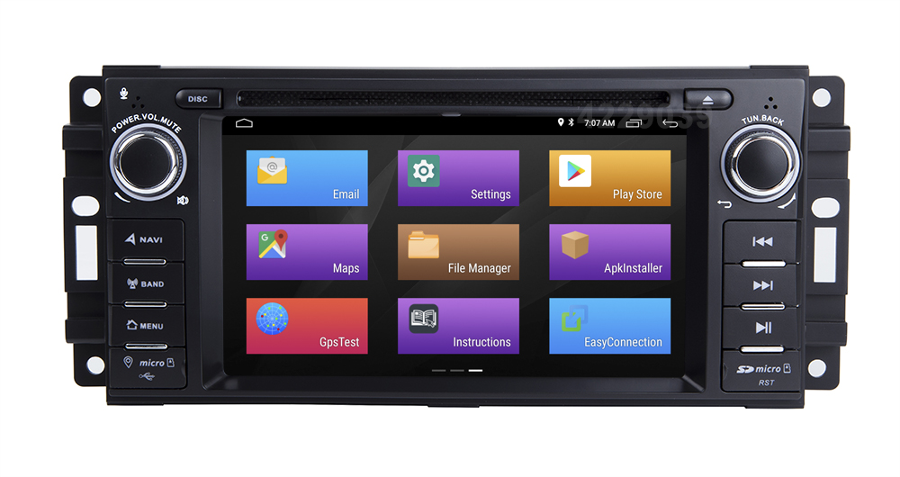 Cheap Android 8.1 Car DVD Player for JEEP COMMANDER/GRAND CHEROKEE  with Radio WiFi 11