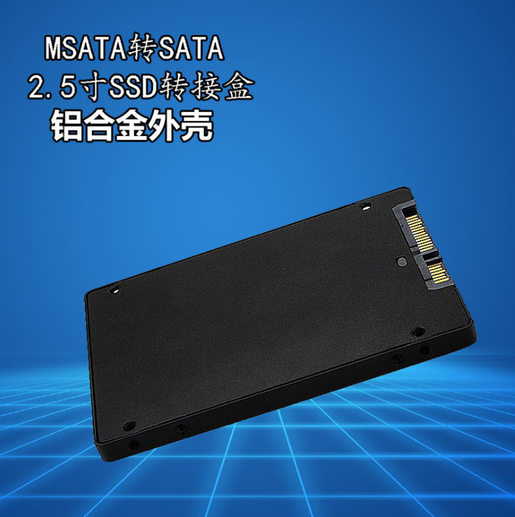 "2 Paket Mini Pcie Msata Ssd 2,5 ""sata3 Adapter Karte Mit Fall 7mm Dicke Pc Neue"