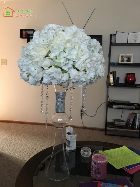 Artificial Flower Table Centerpiece Flower Balls Wedding Road Lead