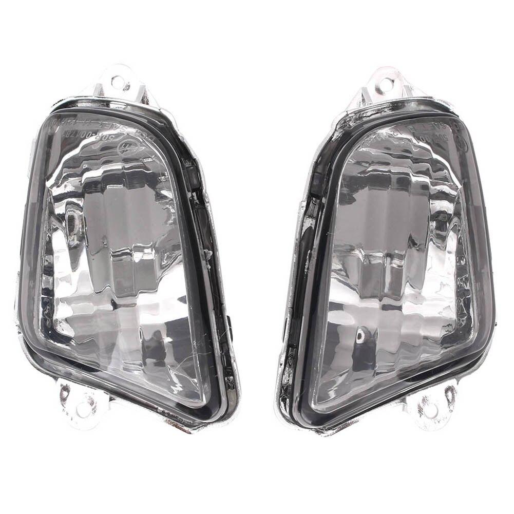 E-Marque Pour Honda CBR1100XX CBR 1100 XX Avant Clignotants Voyant Lampe Clignotant Lens Cover Shell 1997 -2006