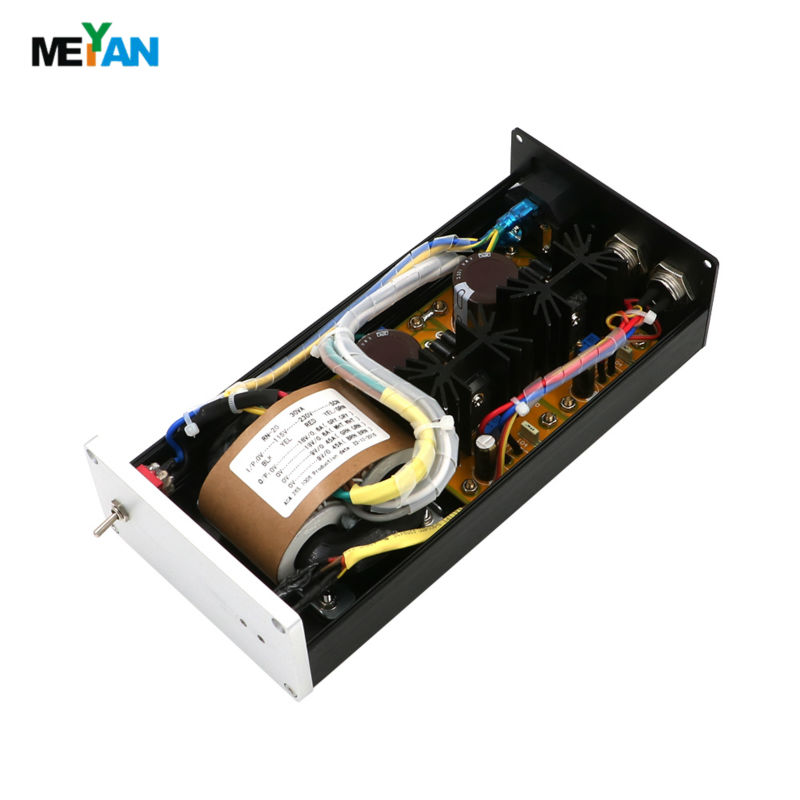 ФОТО 30VA HIFI Linear Power supply USB  amp DAC External LPS 2 way DC output 5V 9V 12V 15V 18V 24V