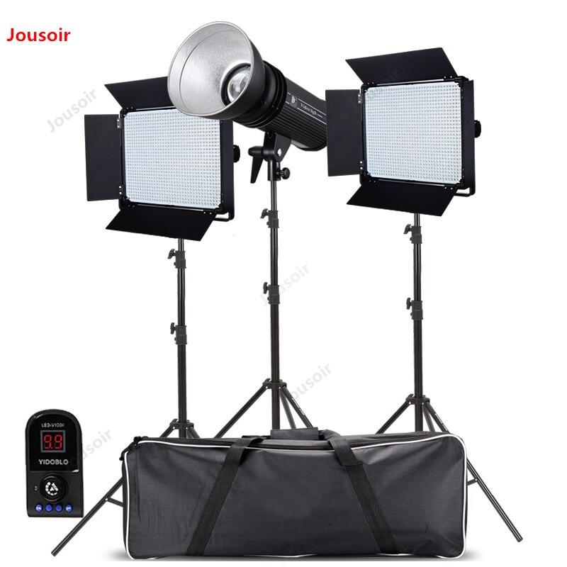 D1080 + 200 Вт освещение для фильмов и ТВ светодиодные лампы для видеосъемки 15 плоских портретных интервью микро кино сеть прямая трансляция CD50
