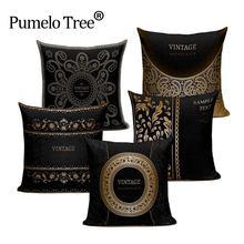 Качественная винтажная Ретро стильная декоративная подушка высокой
