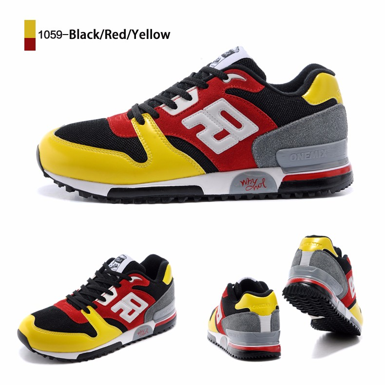 ONEMIX Men Retro 750 Running Shoes Rubber Leather Sport Women Trainers Sneakers Breathable Female Walking Jogging Shoes EU 36-44 19