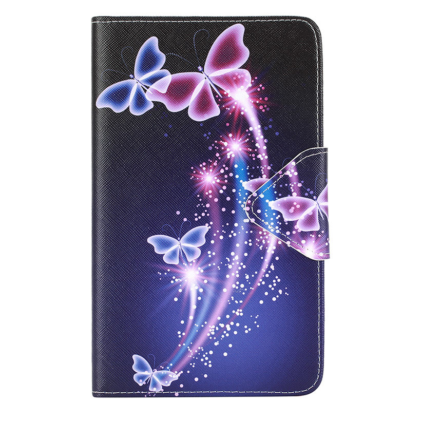 2016 Tab A6 7.0 Case For Samsung Galaxy Tab A 7.0 T280 T285 SM-T280 SM-T285 Case Cover Tablet Fashion Painted Flip Funda Shell