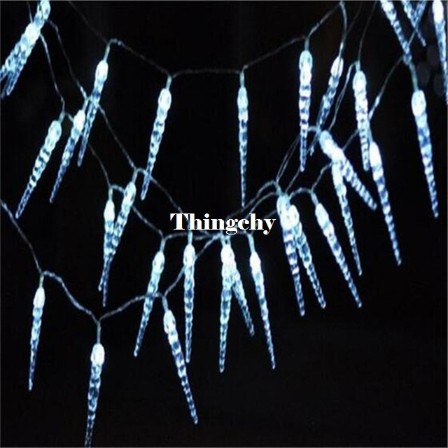 110/220V 10M 100LED crystal Icicle String Light Christmas Fairy lights Wedding Party for New year/Garland/Hom Decor agm 10m copper wire led string light garland 100led battery fairy light for christmas new year home decoration festival decor