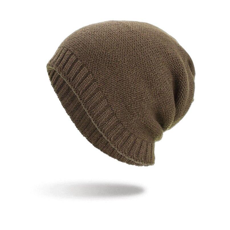Dinamico Donne Degli Uomini Del Cappello Caldo Baggy Tessuto Crochet Di Inverno Cappelli Di Lana Knit Ski Beanie Skull Caps Cappello Cycing Arrampicata Berretto Da Sci #2s24
