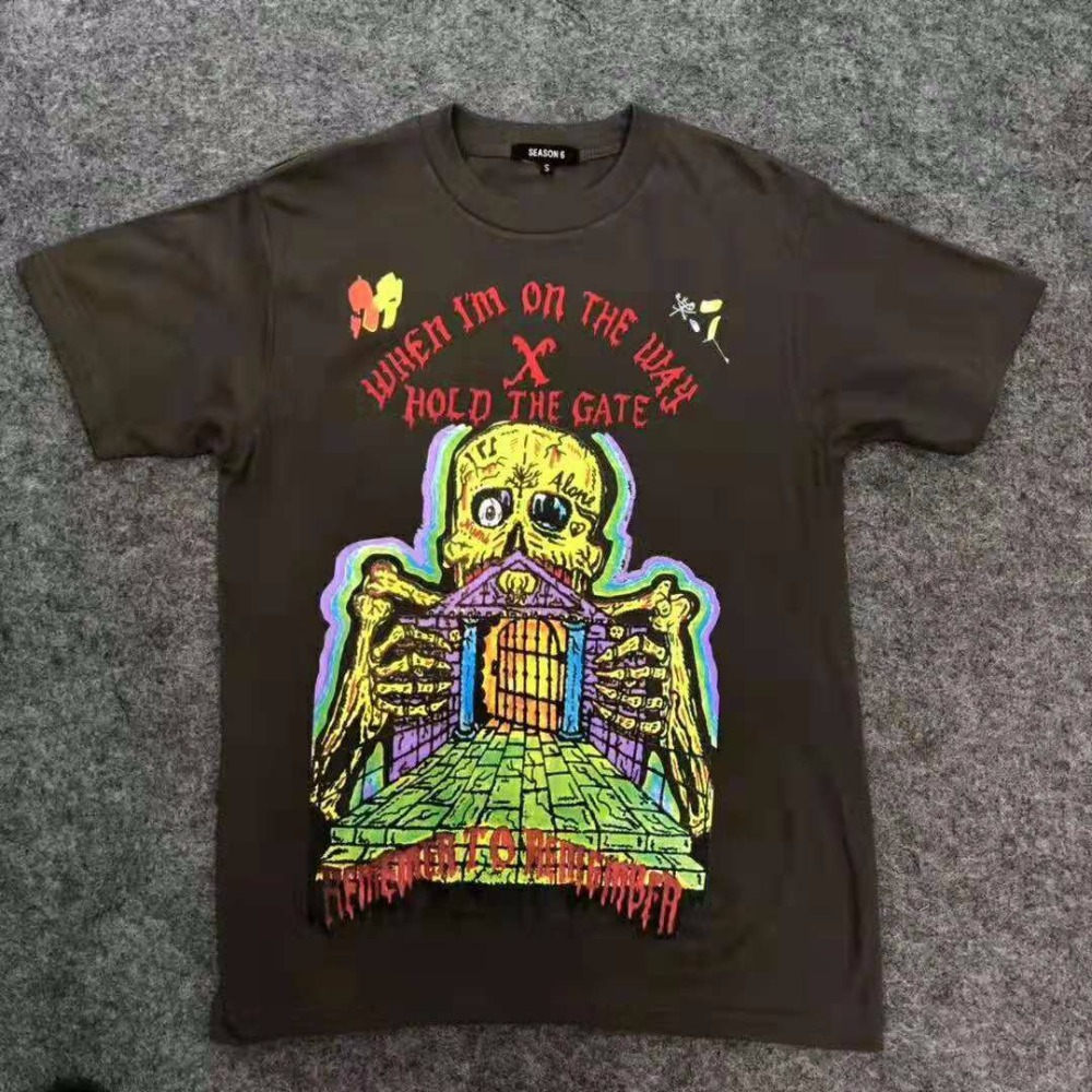 9b6f949a3b84 Readymade T shirts Men 1:1 Best Quality Oversizer ASTROWORLD TOUR TRAVIS  SCOTT CACTUS JACK TEE T Shirt Readymade Top Tee S XL-in T-Shirts from Men's  ...