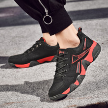 2019 summer new mens shoes sports running casual womens breathable mesh student couples