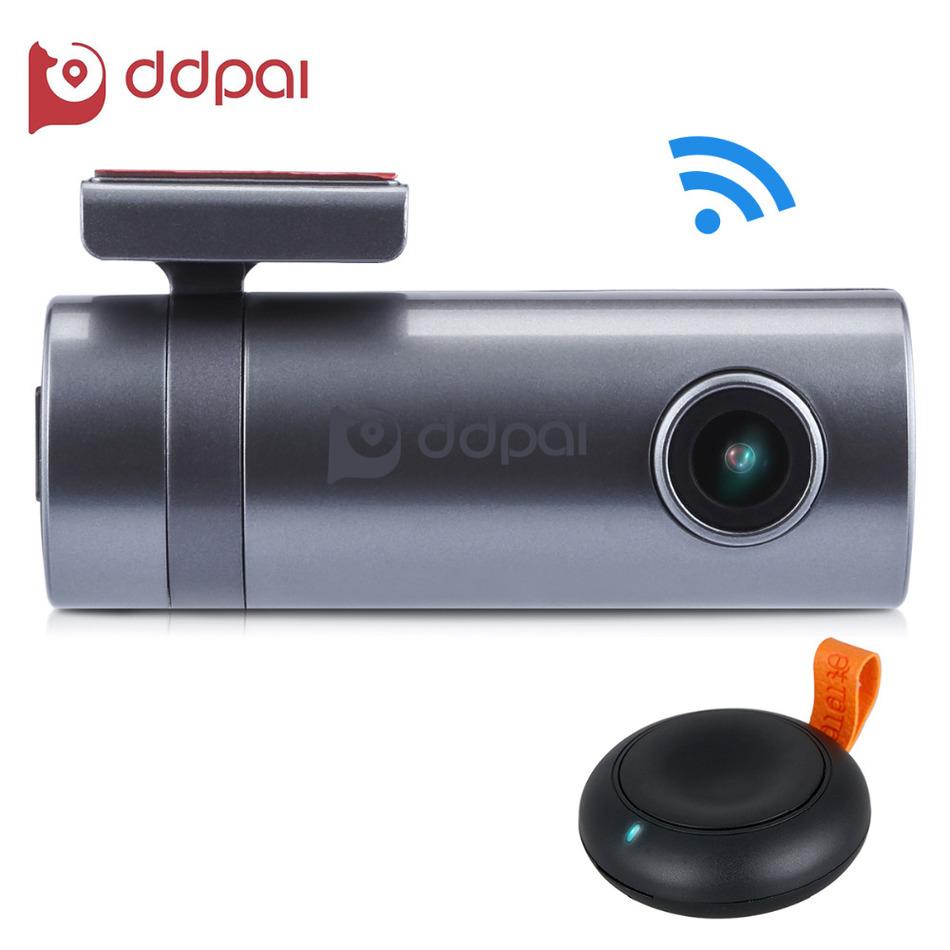 Prix pour DDPAI Mini2 WIFI Voiture DVR 1440 P Full HD Dash Caméra Véhicule Enregistreur Vidéo Numérique Caméscope Moniteur APP G-capteur À Distance Instantané