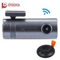 DDPAI Mini2 WIFI Voiture DVR 1440 P Full HD Dash Caméra Véhicule Enregistreur Vidéo Numérique Caméscope Moniteur APP G-capteur À Distance Instantané