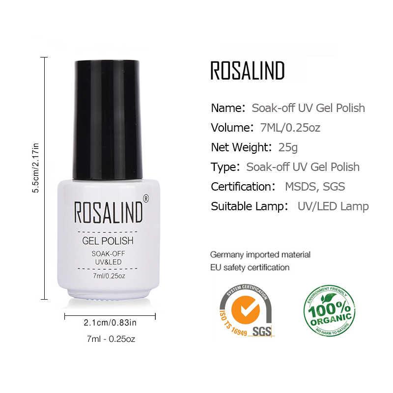 Rosalind Gel 1S Hot Nieuwe Groene Kleur Serie Diamanten Glitter Nail Gel Polish Uv Led Gel Vernis Acryl Voor manicure Nail Art
