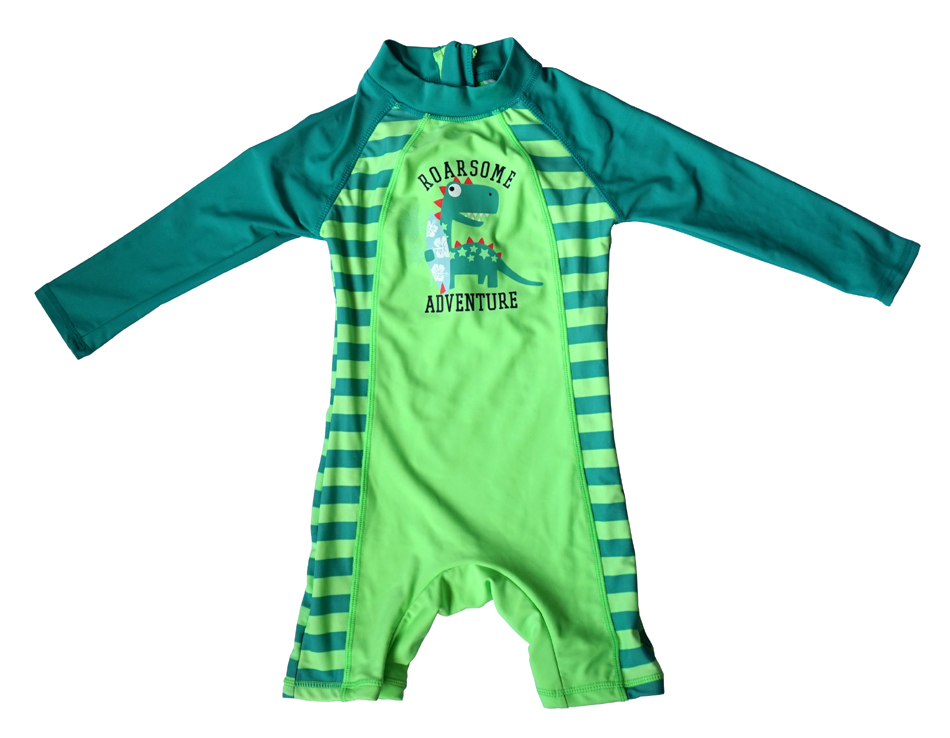 Bonverano(TM) Infant Boys' Swimwear Sunsuit UPF 50+ UV Protection L/S Zipper One Piece Swimsuit Rashguard upf50 rashguard bodyboard al004
