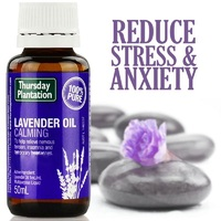 Thursday Plantation Lavender Oil 100 Pure 50ml Calm Soothe And Relax The Body And Mind
