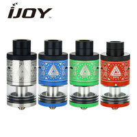 Original IJOY Limitless RDTA Plus Tank 6 3ml Capacity Upgraded 2 Post Deck Limitless Plus RDTA