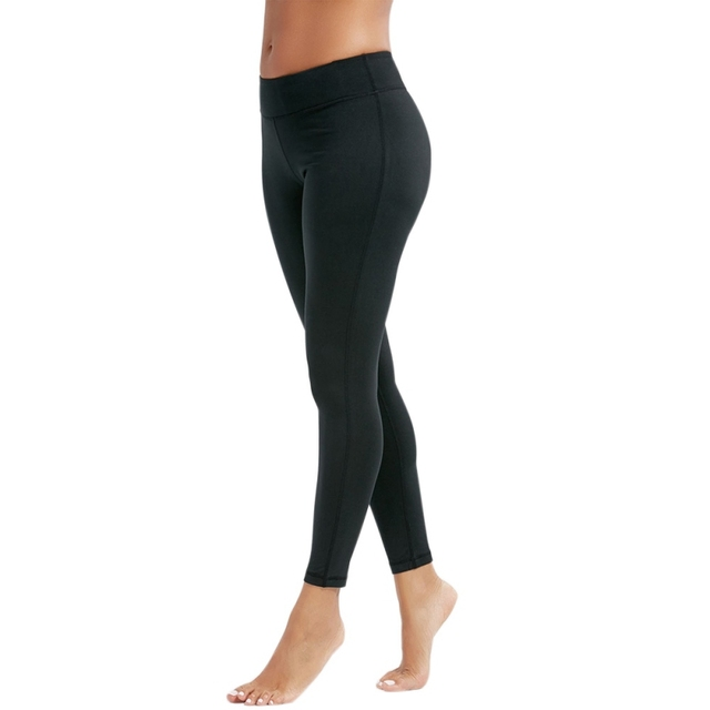 4123d73cd8d9d5 Women Sexy Push Up Breathable Slim Leggings Summer Workout Jegging Women  Casual Push Up Leggings Female black Skinny Jegging