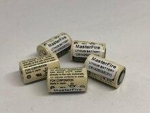 MasterFire 8pcs/lot New CR14250SE(3V) CR14250SE CR14250 3V Industrial Lithium Battery PLC Batteries For FDK