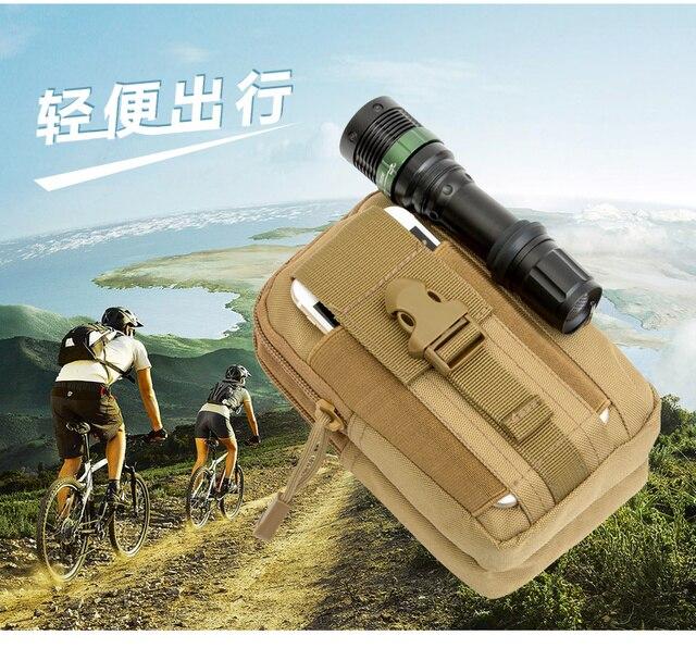 Tactical Holster Hip Belt Bag Waist Phone Case For Grestel S55 Gretel A7 A9 A6 GT6000 Doogee Shoot 2 1X9 Mini T5s Y6C X9Pro