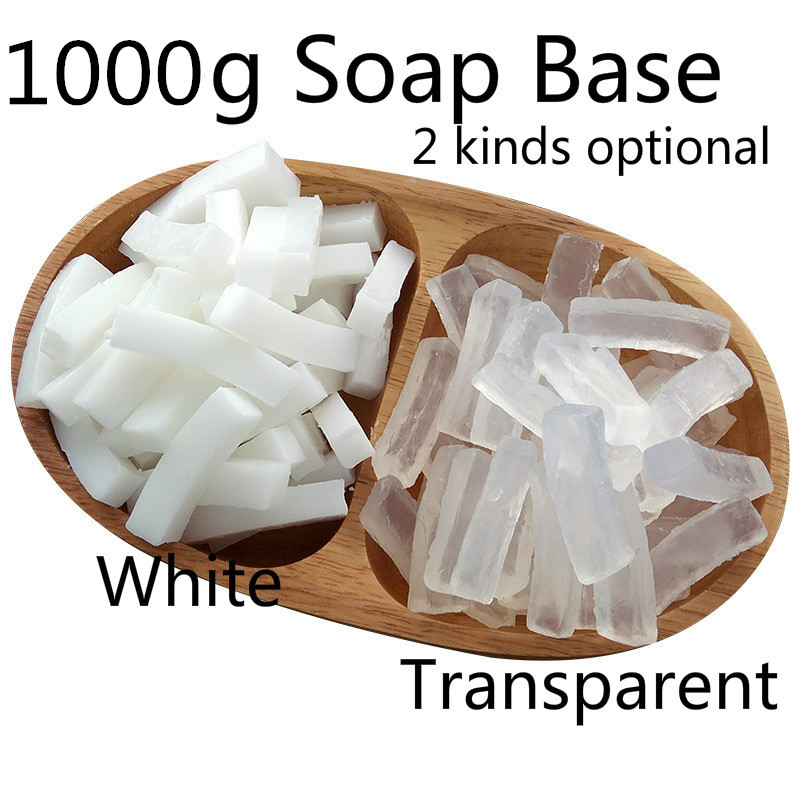 1000g White Soap Base, Transparent DIY Soap Base, Makeing Handmade Soap For Washing Body Hand Or Clothes