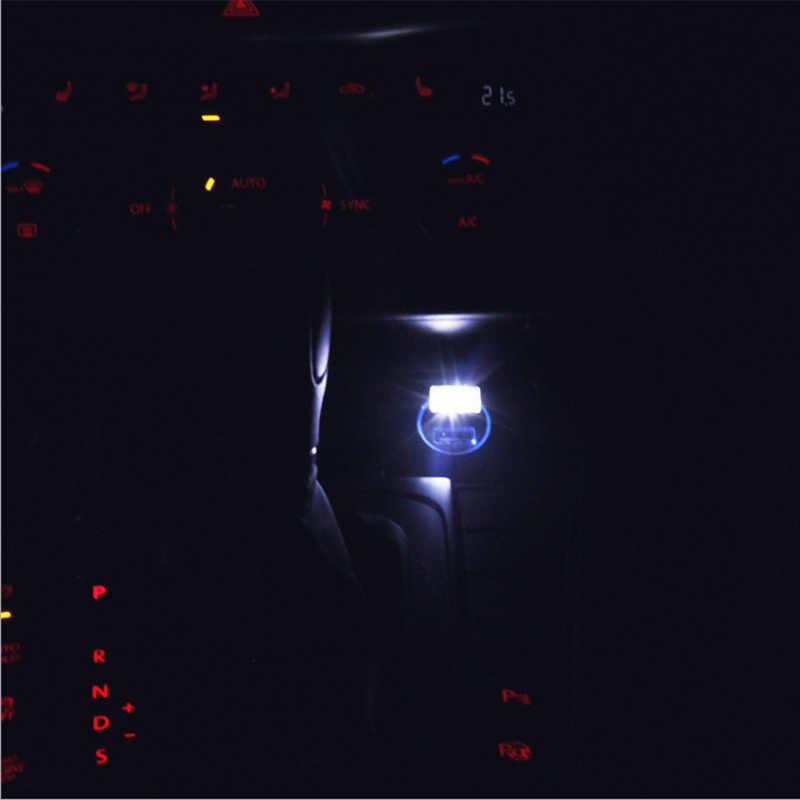 1 Pcs Styling USB Suasana Lampu LED Aksesoris Mobil untuk Honda CR-V XR-V Accord Pengembaraan Crosstour Fit Jazz warga Kota Kota Jade