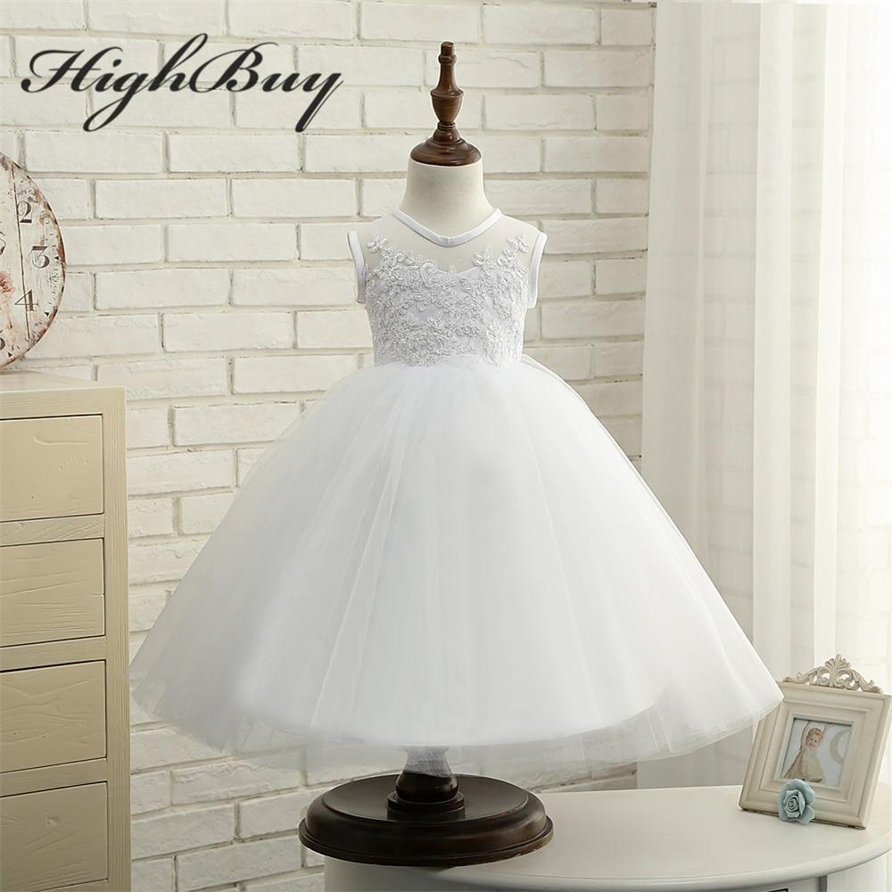 Highbuy De Dança Do Bebê Da Princesa Branco Marfim Primeira