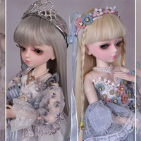 BJD Doll Toys surprise 30CM doll 13 joint movable dress up doll base girl birthday gift appease accompany toy pretend
