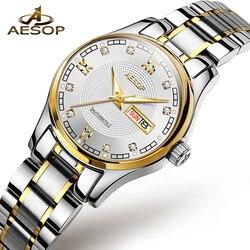 AESOP Women Watches Mechanical Watch Luxury Bracelet Wrist Wristwatch Elegant Ladies Automatic Clock Watch Relogio Feminino