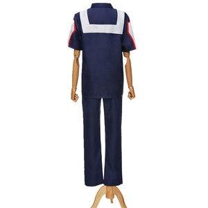 Image 5 - My Hero Academia Cosplay Kostüm Anime Boku hiçbir Kahraman Academia okul üniforması Ochaco Uraraka Midoriya Izuku Spor Takım Elbise Spor