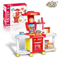 Творческий детская огни играть игрушка девушки моделирования приготовления Посуда кухня игрушка набор киосков оптовая продажа