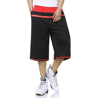 Crossfit Long Shorts Men Casual Loose Sweat Heren Shorts Jogger Streetwear Summer Man Short Sweatpants Bermuda Masculine 6d60