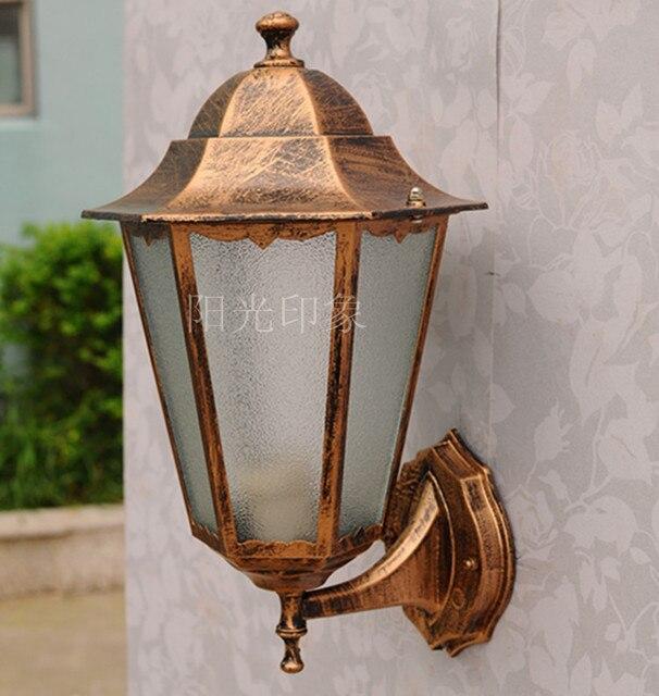 야외 램프 방수 램프 패션 기둥 벽 램프 육각 야외 램프 -에서 ...