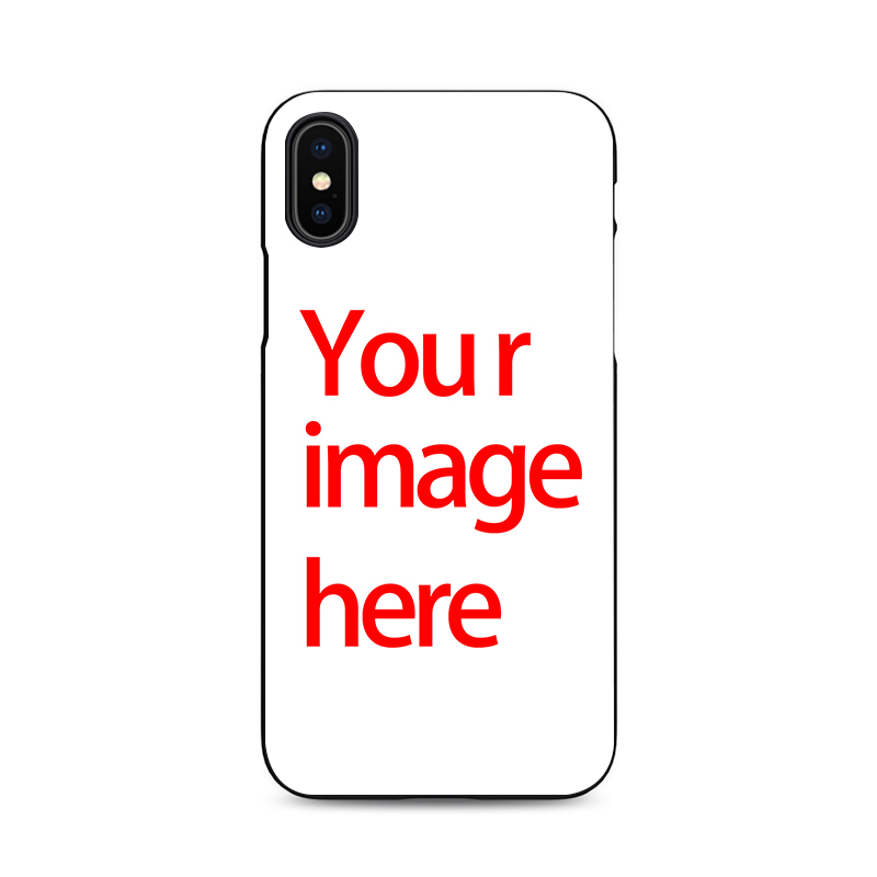 new product 1ae40 195e3 US $1.99 |ace family make my own cell phone case you custom for iPhone X XR  XS MAX 6 7 8 plus 5 6s customize your photo cheap black cover-in ...