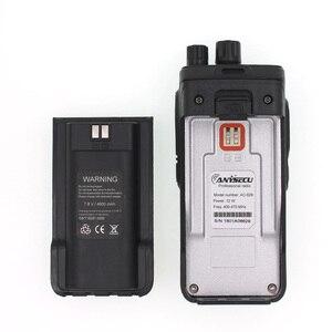 Image 3 - High Power 12W long distance walkie talkie ANYSECU AC 628 UHF Wireless Intercom analog 16CH scrambler Two Way Radio
