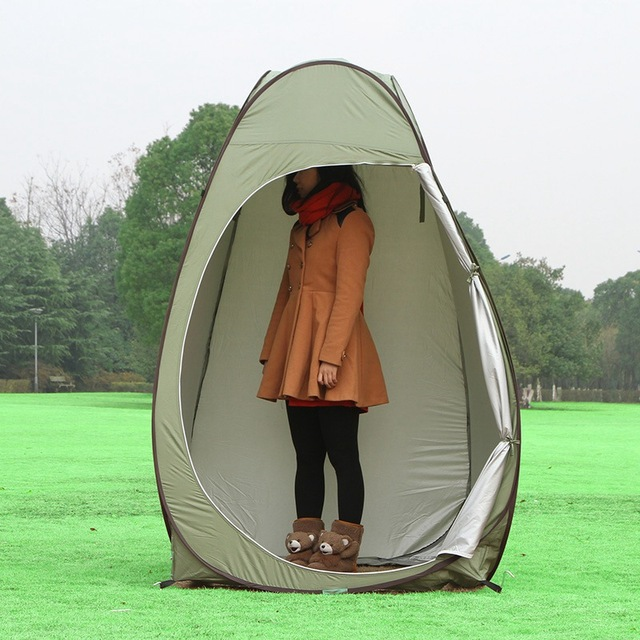 Portable Shelter C&ing Tent Movement Dressing Changing Toilet Tent Room Outdoor Privacy Photo Bathing Shower Tent & Portable Shelter Camping Tent Movement Dressing Changing Toilet ...